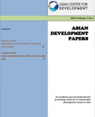 Asian Development Papers